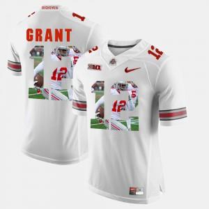 Mens OSU #12 Doran Grant White Pictorial Fashion Jersey 484922-341