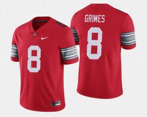 Men's OSU #8 Trevon Grimes Scarlet 2018 Spring Game Limited Jersey 652251-453