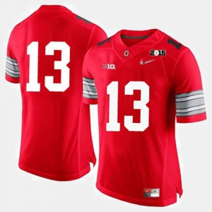 Men's Ohio State #13 Red College Football Jersey 945432-112