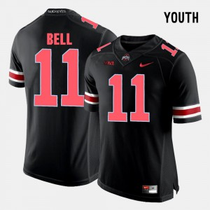 Kids Ohio State #11 Vonn Bell Black College Football Jersey 224315-151
