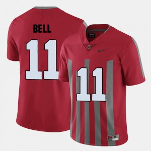 For Men Ohio State #11 Vonn Bell Red College Football Jersey 518237-429