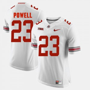 For Men's OSU #23 Tyvis Powell White Alumni Football Game Jersey 954296-612