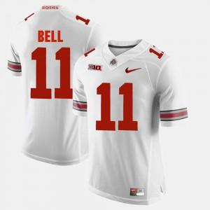 For Men's Ohio State #11 Vonn Bell White Alumni Football Game Jersey 471430-992